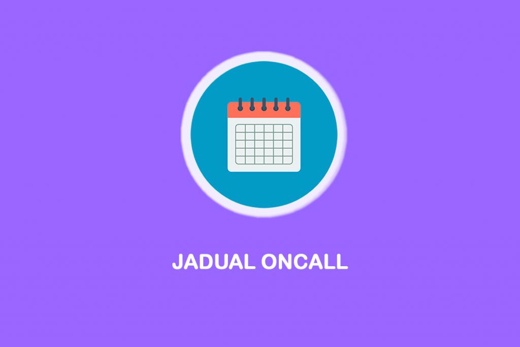 JADUAL ONCALL