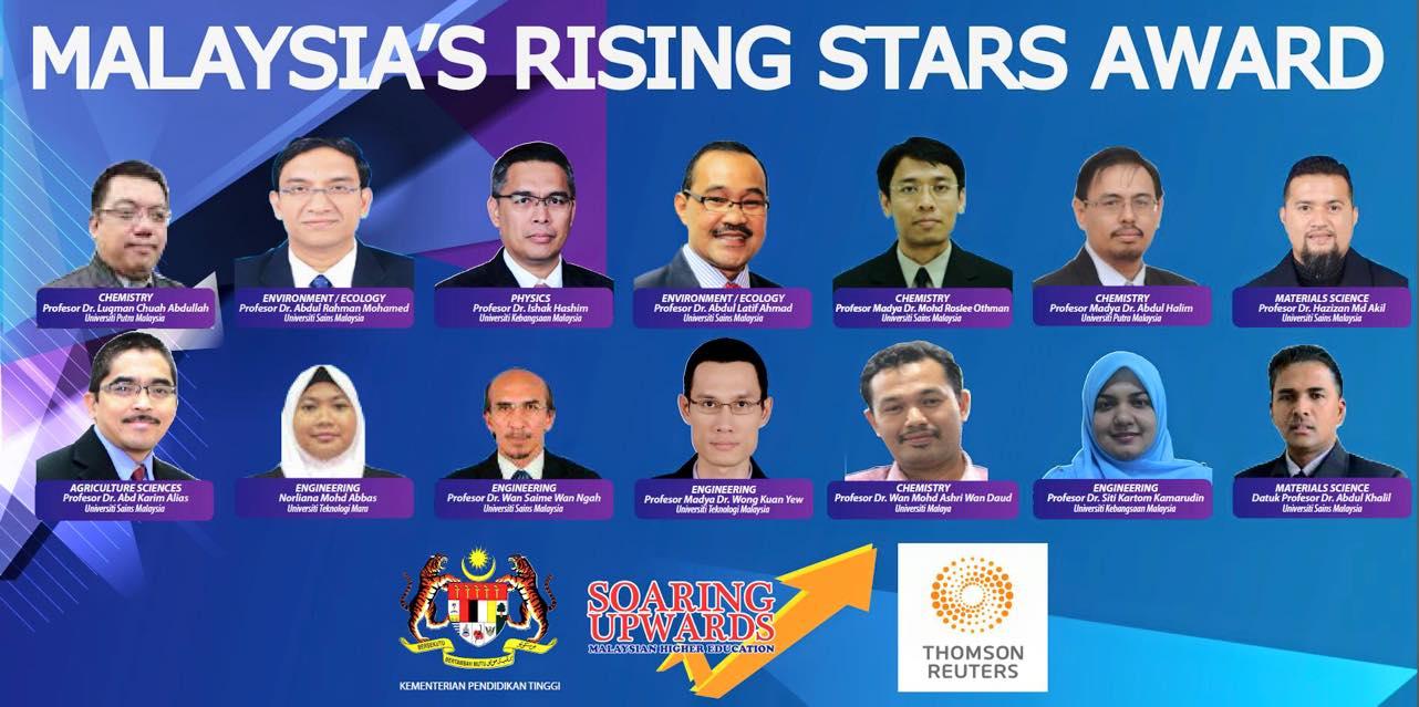 Malaysia's Rising Stars Award