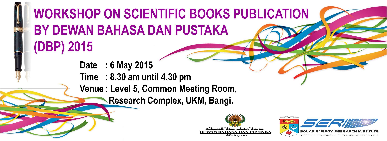 Workshop on Scientific Books Publication