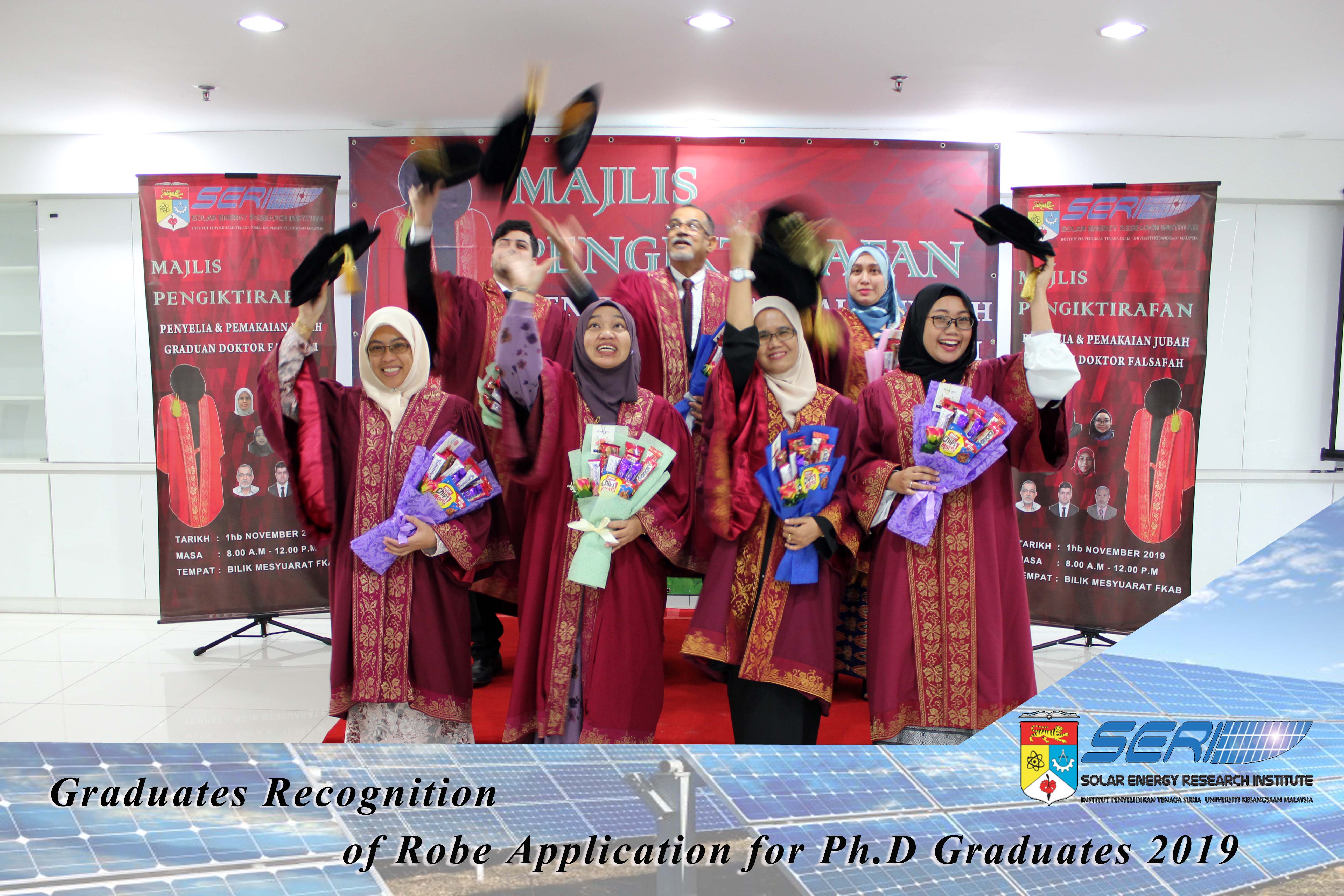 Graduates Recognition Ceremony of Robing Application for PhD Graduates