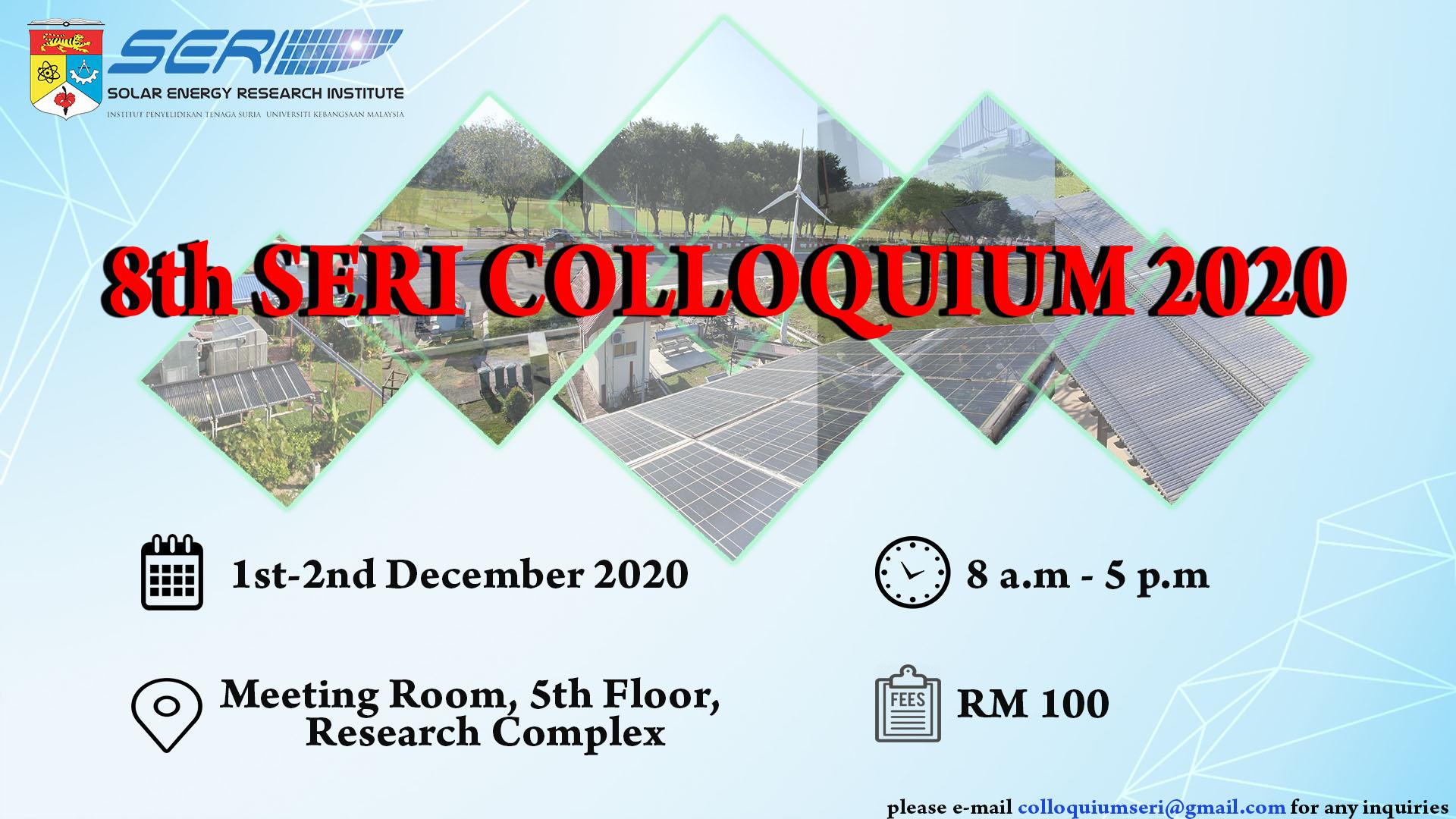 8th SERI COLLOQUIUM 2020