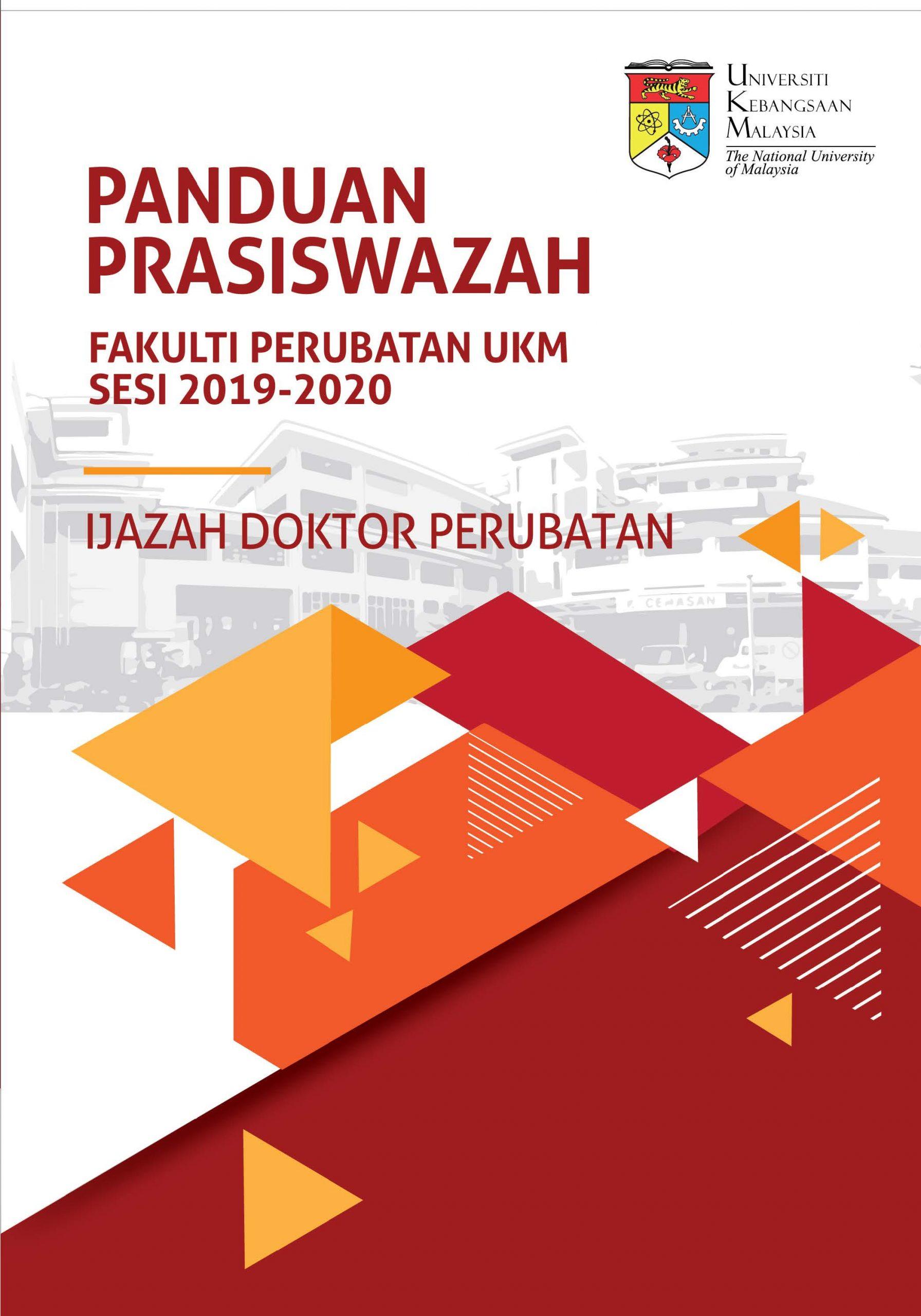 Buku Panduan Prasiswazah Program Ijazah Doktor Perubatan sesi 2019-20201