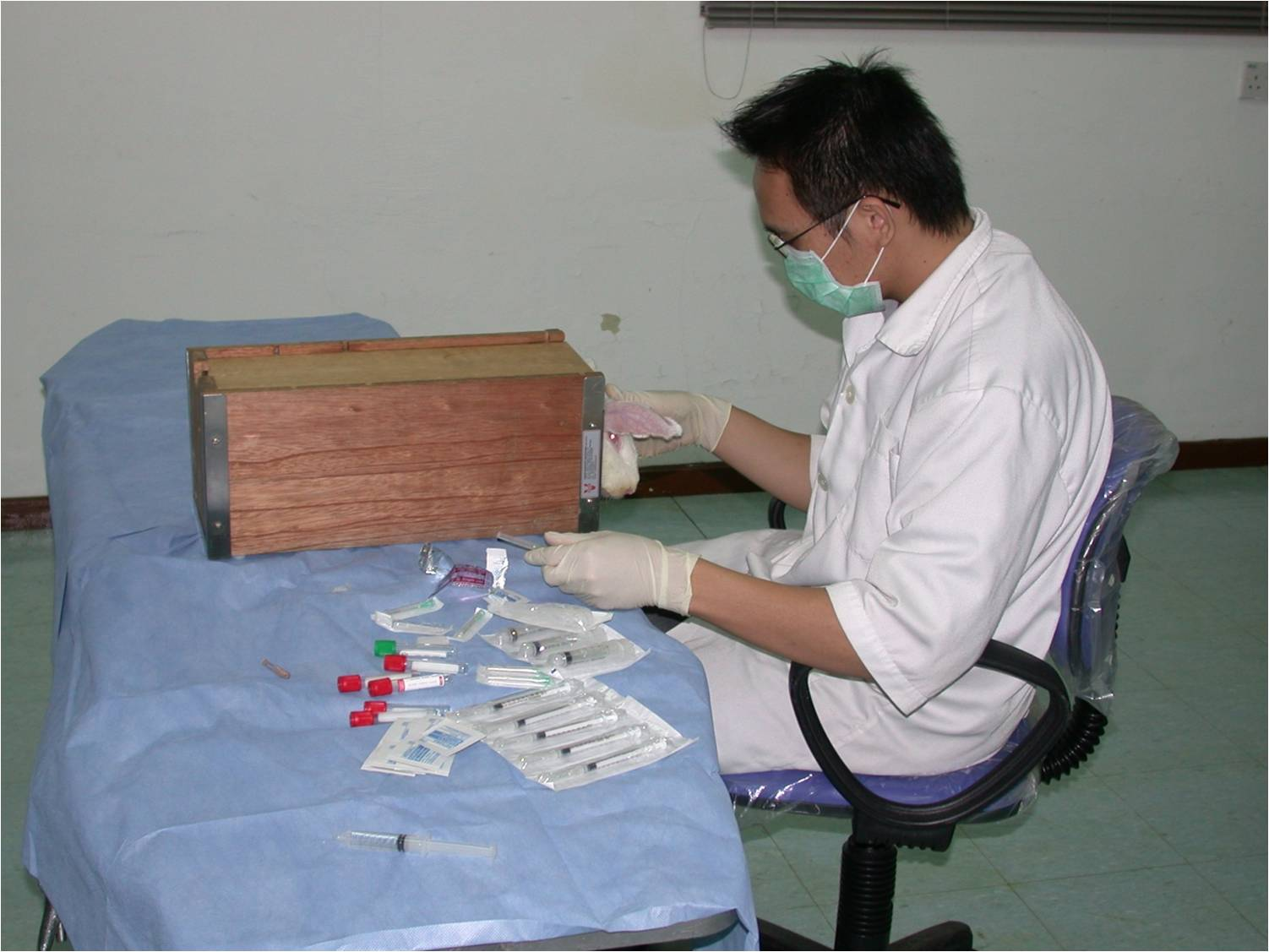 Hands-On Blood sampling