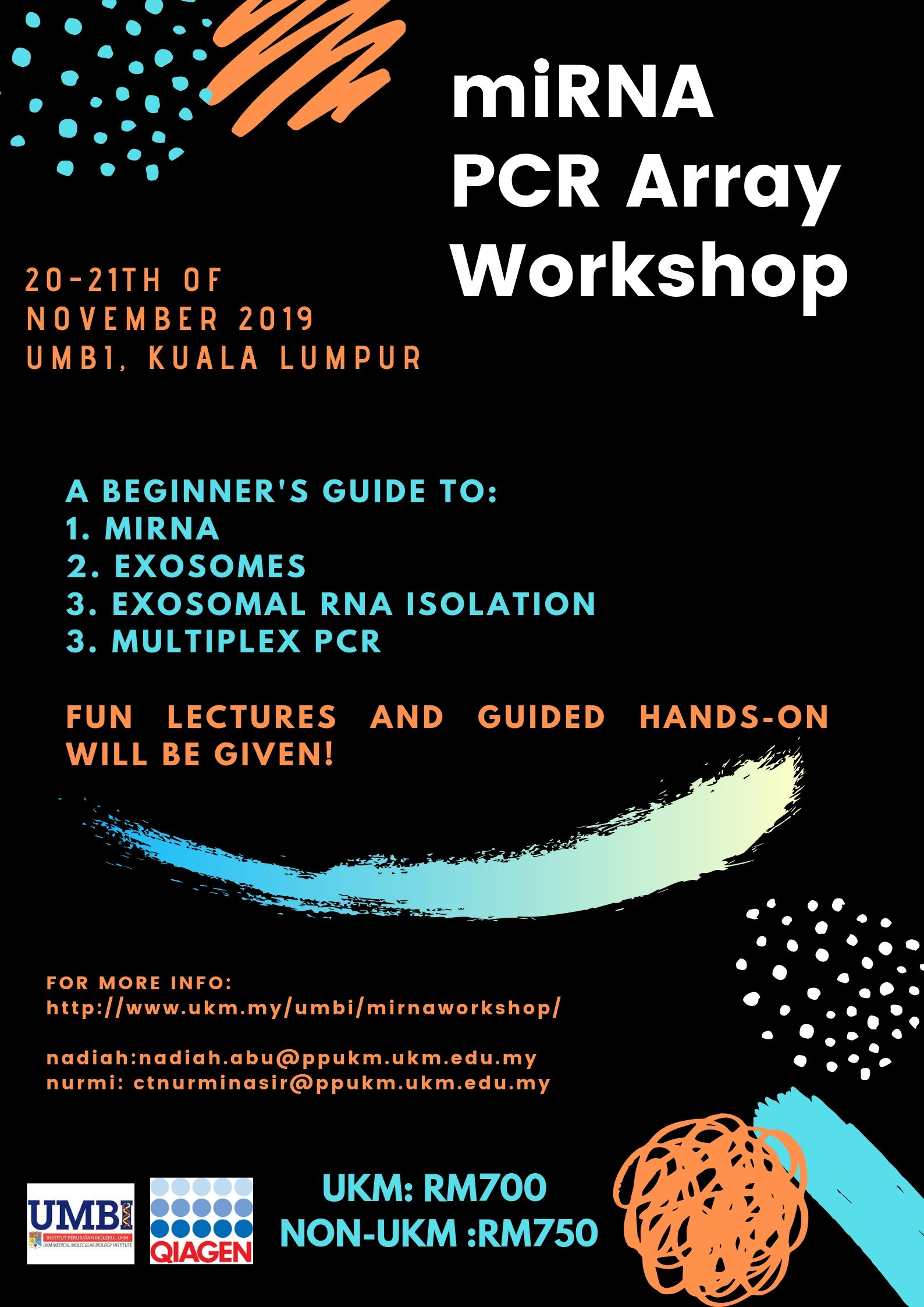 miRNA PCR Array Workshop – UKM Medical Molecular Biology