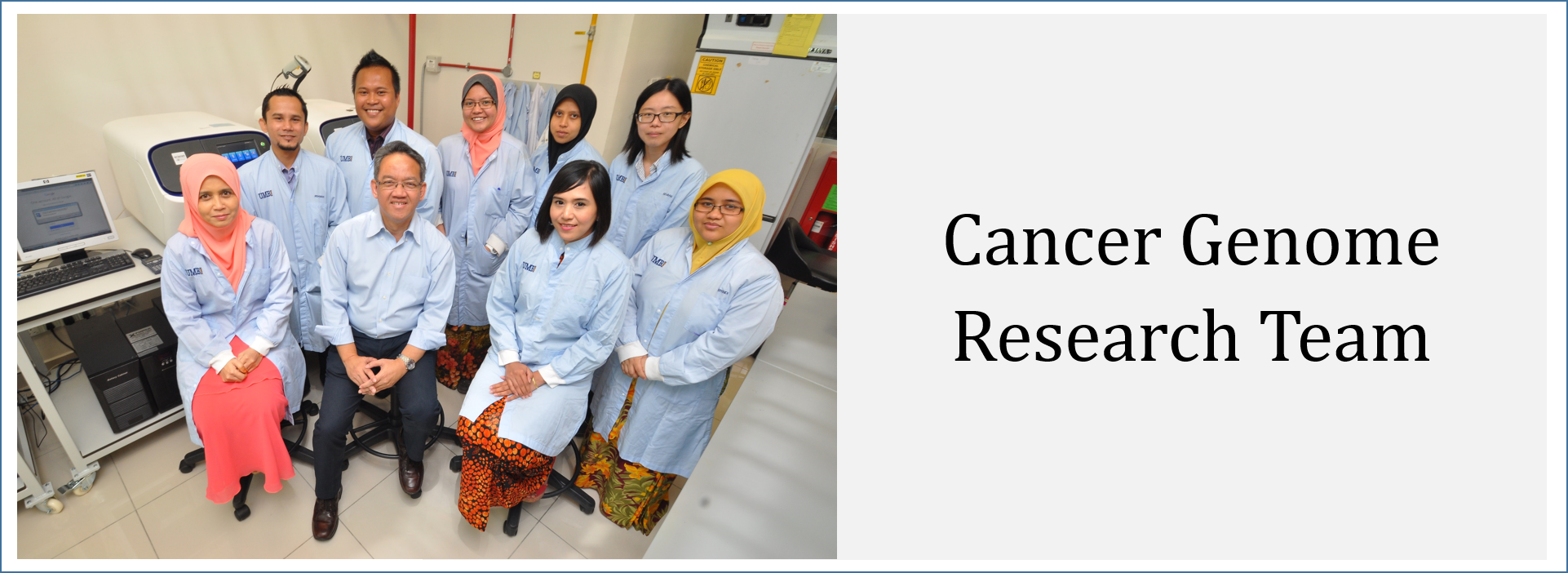 Cancer Genome Research Team